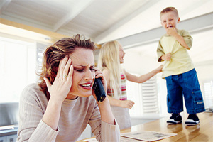 Stressed...how do you handle a new baby?
